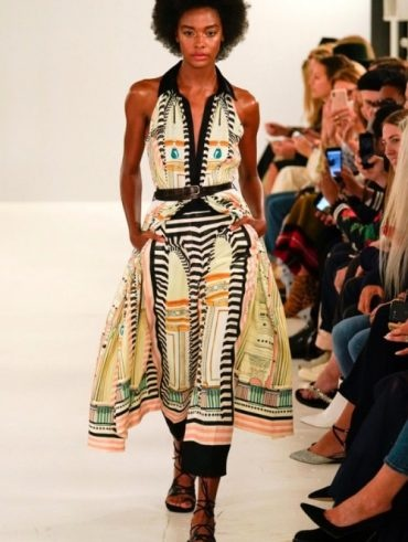 Temperley London - Spring 2019 Runway - London Fashion Week - International Make-up Artist Thailand - savourbytina